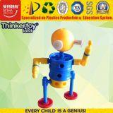 Giocattoli creativi di plastica del robot delle particelle elementari di formazione dell'en 71