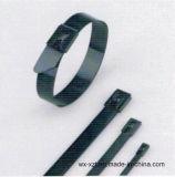 301 de Semi Polyester Met een laag bedekte Banden van het roestvrij staal