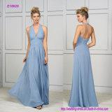 Low-Cut Halter und verdünnen rückseitiges Brücke-Brautjunfer-Kleid