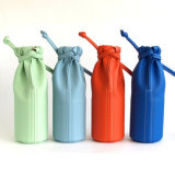Il sacchetto cosmetico dell'unità di elaborazione, compone il sacchetto rotondo dell'imballaggio della spazzola, si leva in piedi in su compone il sacchetto