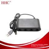 4 ports GC de l'adaptateur du contrôleur de convertisseur pour Nintendo Wii / PC / Interrupteur U. Aucun pilote nécessaire et facile à utiliser -Version améliorée