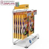 Le bois ou de l'acrylique Simple compteur peu d'écran du produit des ciseaux de crayon Stand avec les crochets