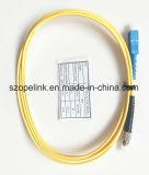 Cabos de correção de programa de fibra óptica do Sc do cabo