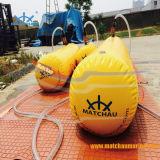O PVC Baleeira prova teste de carga de água sacos de peso