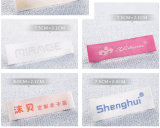 De alta calidad personalizado principal ropa de etiqueta tejida L005