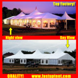Высокое пиковое смешанных палатку в рамке для конференции в размером 15x45m 15 м x 45 м 15 45 45X15 45 м x 15 м