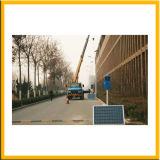Désintégration faible lumière solaire pour la rue 100W