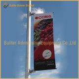 Металлические освещения улиц полюса флаг Fixer рекламы (BS-HS-021)