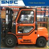 Forklift Diesel 3ton de China Snsc com preço da cabine