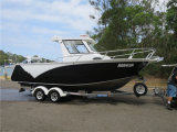 Горячая продажа 22FT Австралии Стандартный алюминиевый All-Welded рыболовного судна