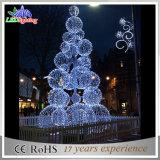 Weihnachtskugel-Motiv-Baum-Lichter der Feiertags-Dekoration-riesige LED