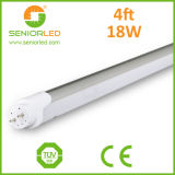 El tubo flexible de la tira T8 LED enciende la cubierta
