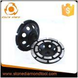 4''-7'' la cuvette de meulage à double rangée de pierres de maçonnerie Outil disque de roue