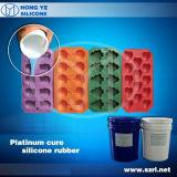 Adição cura borracha de silicone para molde de bolo