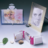 Photo acrylique Frame Picture Frame Photo Holder Plexiglass Picture Frame Lucite Photo Stand avec Magnetics