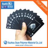 Штейновый черный твердый лист PVC для умирает офсетная печать вырезывания UV