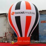 воздушный шар радуги 15FT огромный раздувной земной с логосом знамени
