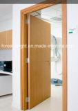 建築等級は削片板のコアHPL、病院のためのHpdlのドアおよびホテルに5執ように勧める