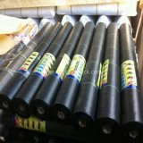 China Factory Anti Grass Grow Black Plain Weed Control Mat