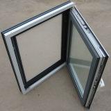 Ventana Verde-Blanca del marco de Alumium del color para el mercado americano