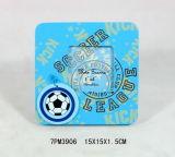 Hot En71 Standard Football Frame de foto de ímã de madeira
