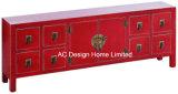 De antieke Traditionele Chinese Deuren van het Kabinet With2 van de Stijl Houten & 1 Lade