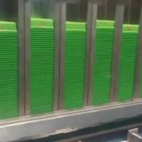 La nourriture automatique enferme dans une boîte le matériel d'impression de garniture