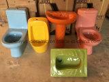 Lavabo di ceramica della stanza da bagno per il progetto del Capretto-Giardino o i bambini (MG-0051B)