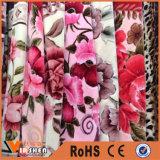 Крышка одеяла фланели листа домашнего тканья толщиная теплая