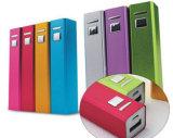 Côté portatif 2600mAh de pouvoir de chargeur de batterie de rouge à lievres