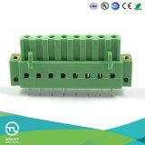 Conetores dos blocos terminais do PWB do passo da manufatura 5.0mm de Utl