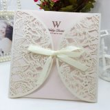 Card Paper New Design Hollow Carte de voeux / carte d'invitation / carte de mariage