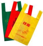 Bolso reutilizable material no tejido del profesional que hace la máquina (ZXL-B700)
