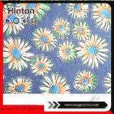 Напечатанная ткань джинсовой ткани для повелительницы Сумки Материала