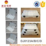 小型の調節可能なホームオルガナイザーボックス