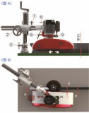 A tabela do Shaper do eixo do Woodworking viu o alimentador da potência conservada em estoque da roda