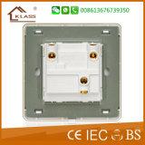Interruptor de parede britânico de qualidade superior de duas peças 16A