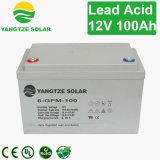 12V 100Ah Rechargeable Batterie plomb-acide à régulation par soupape