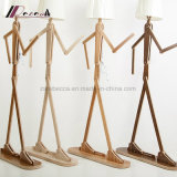 Lâmpada de assoalho ajustável da forma engraçada creativa do homem