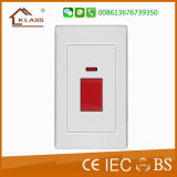 Two Gang Two Way Wall Electric Light Switch