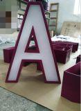 lettres de l'acier inoxydable 3D pour le Signage de panneau-réclame