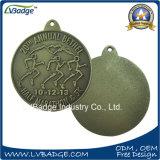 Медаль пожалования спорта сувенира легирующего металла цинка