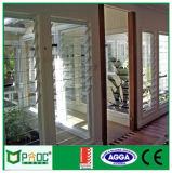 Feritoia di vetro registrabile dell'alluminio con la lamierina fatta a Schang-Hai