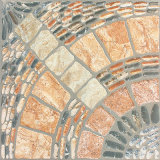 mattonelle di pavimento di ceramica del getto di inchiostro rustico del Matt del materiale da costruzione di 400X400mm