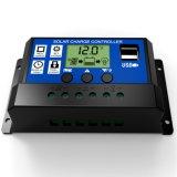 10A 20A 30A 12V/24V Intelligenz-Solarbatterie-Ladung-Controller