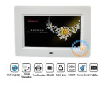 "Slim 7 ""Inch LCD Digital Photoframe com Loop Video MP3 MP4"