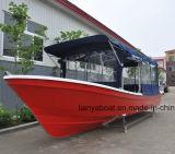 Liya 5m de Verkoop van de Boot van Panga van de Glasvezel van de Vissersboot van de Familie van 7.6m