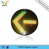 Luz roja de la señal de tráfico del reemplazo de la luz de la flecha del verde 400m m de la mezcla