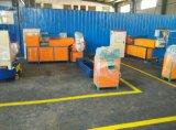 Máquina de reciclaje plástica doble de alta velocidad del estirador de tornillo
