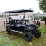 大きいタイヤが付いているカスタマイズされた6つのシートの電気ゴルフカート